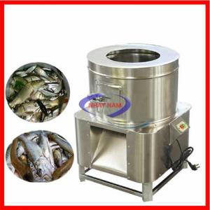Máy đánh vảy cá QYL (12 lít) (NNĐV-01)là thiết bị được sử dụng rộng rãi tại các cở sở chế biến cá, cơ sở chuyên hấp cá để đánh vẩy cá trước khi đưa vào sơ chế hoặc bán ra cho khách hàng.