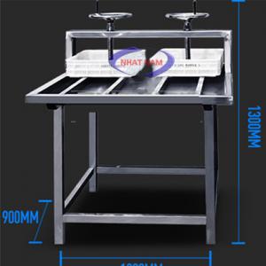 Máy ép đậu phụ (NNTP-M06)là sản phẩm không thể thiếu trong dây chuyền sản xuất đậu phụ