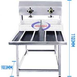 Máy ép đậu phụ (NNTP-M07)là sản phẩm không thể thiếu trong dây chuyền sản xuất đậu phụ