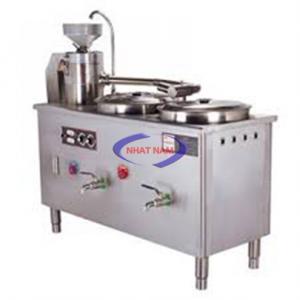 Máy xay đậu nành DJ-70/70A (NNTP-M08)có thể dễ dàng tháo lắp phần phễu chứa, đá xay, lưới lọc ra khỏi máy để vệ sinh. Máy làm đậu nành đa năng được thiết kế hoàn toàn bằng Inox, độ bền cao. Khi sử dụng chỉ cần gắn lại, cài chốt và bật máy để khởi động. Đậu nành được ngâm sẵn cho vào máy từ từ cùng với nước lạnh (được gắn vào van xả phái trên) để máy tự xay. Bạn cũng có thể điều chỉnh độ kiệt của bã qua việc điêu chỉnh khoảng cách đá xay bằng tay vặn phía trên.
