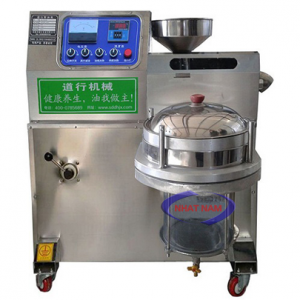 Máy ép dầu thực vật DH-50 (NNTP-R05)là dòng máy mới với nhiều tính năng được tích hợp. Máy có 2 tính năng chính là ép dầu và lọc dầu sau khi ép, bạn sẽ không phải đợi dầu lắng xuống nữa mà bạn có thể lọc ngay và bán cho khách hàng của mình.