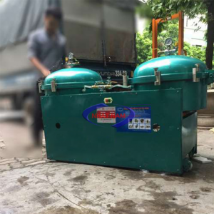 Máy lọc dầu khí nén 140 lít/h (NNLD-07)là một dạng máysử dụng khí nén để ép dầu qua tấm lọc giúp tách các loại cặn ra khỏi dầu một cách tối ưu.
