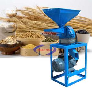 Máy xay bột khô mịn 120 kg/h (NNXB-08)  – Với thiết kế của hệ thống khung đỡ chắc chắn  – Sản phẩm bột xay ra siêu mịn  – Máy có thể xay bột với độ mịn khác nhau, tùy theo mặt sàn sử dụng