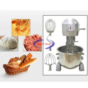 Máy trộn bột 10 lít (NNTB-05)Ngày nay, việc làm các loại bánh đã trở nên phổ biến, nhu cầu sử dụng các loại thiết bị làm bánh cũng ngày càng tăng cao, đặc biệt, đối với các tiệm bánh lớn, các công ty sản xuất bánh  – Việc sử dụng máy trộn bột trở nên vô cùng cần thiết, giúp người thợ làm bánh có thể làm bánh một cách nhanh và ngon