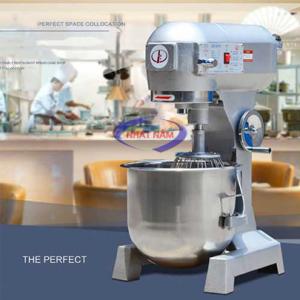 Máy trộn bột 20 lít (NNTB-09):Ngày nay, việc làm các loại bánh đã trở nên phổ biến, nhu cầu sử dụng các loại thiết bị làm bánh cũng ngày càng tăng cao, đặc biệt, đối với các tiệm bánh lớn, các công ty sản xuất bánh, việc sử dụng máy trộn bột trở nên vô cùng cần thiết, giúp người thợ làm bánh có thể làm bánh một cách nhanh và ngon.