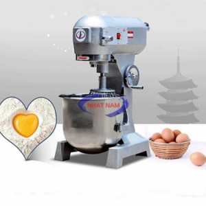 Máy trộn bột 30 lít (NNTB-10)là sản phẩm hỗ trợ người thợ làm bánh thay cho việc trộn bánh một cách thủ công  – Mất nhiều thời gian, thì ngày nay, bạn có thể sử dụng một chiếc máy trộn bột để nhào bột, trộn bột giúp cho việc làm bánh dễ dàng hơn rất nhiều, bột được trộn nhanh hơn, đều hơn, mịn hơn.