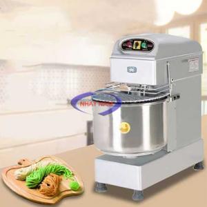 Máy trộn bột dẻo làm bánh mỳ HS30A (NNTB-27)giúp cho sản phẩm đảm bảo chất lượng, các món bánh được làm từ bột được trộn đều, bột không bị khô hay mà ngấm đều gia vị.Máy trộn bột dẻo làm bánh mỳ HS30A là sự lựa chọn của nhiều cơ sở chế biến thực phẩm hay những cơ sở sản xuất bánh mỳ.
