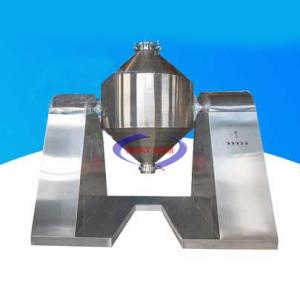 Máy trộn bột khô dạng trống 400 kg/mẻ (Inox) (NNTB-45)có dạng bồn nằm ngang, các cánh đảo bên trong có thể trộn nhanh và đều các loại vật liệu dạng bột vớitỷ lệ và độ mịn khác nhau. Máy có cấu tạo đơn giản, dễ dàng vệ sinh trong quá trình sau trộn. Bộ phận tiếp xúc với nguyên liệu được làm bằng thép không gỉ.