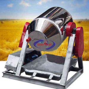 Máy trộn bột khô dạng trống 100 kg/mẻ (NNTB-30)có cấu tạo đơn giản, dễ dàng vệ sinh trong quá trình sau trộn. Bộ phận tiếp xúc với nguyên liệu được làm bằnginox cap cấp
