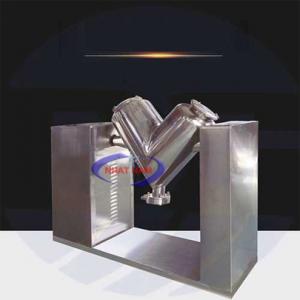 Máy trộn bột khô chữ V (NNTB-34)là loại máy trộn bột cải tiến nhất hiện nay.  – Máy có nhiều ưu điểm như không có góc chết, không tích tụ nguyên liệu, tốc độ cao và thời gian trộn thấp.