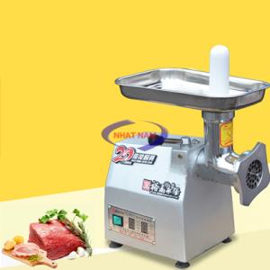 Máy xay thịt YQ-12 (NNXT-B05)  – Sản phẩm có thể sử dụng để xay nhuyễn thịt làm nem, viên, làm giò chả…  – Máy xay thịtđược làm từ chất liệu inox đảm bảo an toàn vệ sinh thực phẩm, máy có năng lực xay 120kg thịt/h.  – Ngoài việc chuyên dụng xay thịt thì YQ-12 còn có thể xay các loại củ quả, xay cá, xay cua...