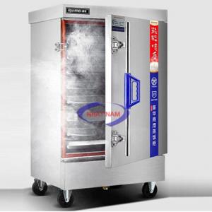 Tủ nấu cơm 6 khay dùng điện không điều khiển (NNTC-37)một giải pháp tối ưu trong công việc nấu cơm cho các quán ăn, canteen hay bếp ăn tập thể có quy mô nhỏ và vừa. Thay bằng việc nấu cơm thủ công mất rất nhiều thời gian và công sức, tủ nấu cơm điện cơ 6 khay được sản xuất với công nghệ hiện đại sẽ đem lại cho bạn rất nhiều lợi ích thiết thực.