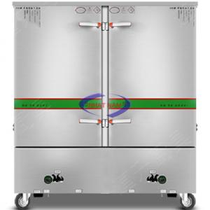 Tủ cơm 24 khay dùng gas TQ (NNTC-17) Tủ có hệ thống phân phối hơi đều, đa chiều, giúp hơi nhiệt tỏa đều trong mọi vị trí không gian nấu