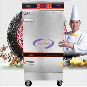 Tủ cơm 10 khay dùng điện có điều khiển (NNTC-08) là tủ chuyên dùng nấu cơm trong các phòng ăn khu công nghiệp, căng tin trường học, các bếp ăn tập thể, các công ty