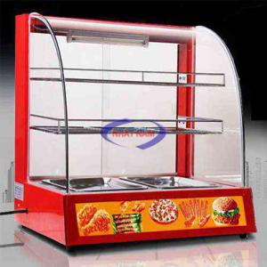 Tủ giữ nóng thức ăn 2 tầng (NNTH-01)có chứcnăng giữấm và bảo quản thực phẩm sau khi chế biến,đảm bảo vệ sinh vừađể trưng bày, phù hợp với các cửa hàng, hộ kinh doanh vừa và nhỏ.