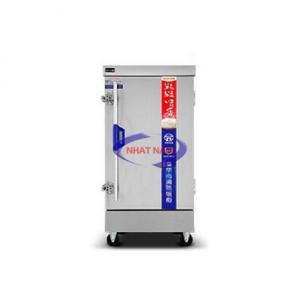 Tủ cơm 12 khay dùng điện không điều khiển (NNTC-11)là tủ chuyên dùng nấu cơm trong các phòng ăn khu công nghiệp, căng tin trường học, các bếp ăn tập thể, các công ty