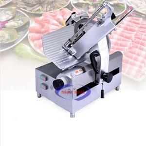 Máy thái thịt tự động SL-300E (NNTT-A20). Là một trong những thiết bị quan trọng được thiết kế tối ưu về chế biến thực phẩm. Máy có thể thay thế rất nhiều lao động lành nghề làm việc cùng một thời điểm, đảm bảo vệ sinh an toàn thực phẩm khi chế biến.