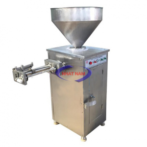 Máy đùn xoắn xúc xích định lượng khí nén GC-2 (NNXX-A15)là dòng máy mới, cải tiến bởi công nghệ nhồi xúc xích hiện đại mà chúng tôi cung cấp. Mang đến cho người tiêu dùng sản phẩm tuyệt vời nhất