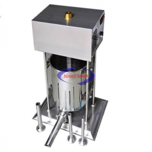 Máy đùn xúc xích dùng điện 10 lít (NNXX-A07) là dòng máy đời mới nhất hiện nay với thiết kế đặc biệt và cải tiến vượt trội – Máy đùn xúc xích chắc chắn là công cụ hỗ trợ đắc lực cho các cơ sở sản xuất xúc xích, lạp xưởng.