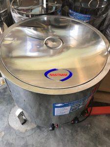 Nồi nấu cháo 150 lít (NNCN-B08)được cung cấp, đây là dòng sản phẩm được sản xuất tại Nhật Nam, dùng để nấu cháo hầm, nấu rau, giữ nhiệt ấm cho các sản phẩm,… thich hợp dùng cho các cửa hàng, hộ gia đình, bếp ăn trường học.