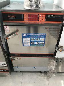 Tủ cơm 8 khay dùng điện có điều khiển (NNTC-05)là tủ chuyên dùng nấu cơm trong các phòng ăn khu công nghiệp, căng tin trường học, các bếp ăn tập thể, các công ty