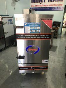 Tủ cơm 8 khay dùng gas (NNTC-07)là dòng sản phẩm được Nhật nam cung cấp, tủ chuyên dùng nấu cơm trong các phòng ăn khu công nghiệp, căng tin trường học, các bếp ăn tập thể, các công ty
