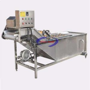 Máy rửa rau củ quả công nghiệp GY-QP-2500 (NNCQ-C07)được dùng để làm sạch và chà vỏ các loại củ quả nông sản như: Khoai tây, khoai lang, cà rốt, củ nghệ, củ gừng, củ riềng, củ dong, các loại rau, các loại quả…