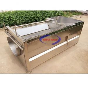 Máy rửa củ gừng, nghệ HS-2000 (NNCQ-C06)được dùng để làm sạch và chà vỏ các loại củ quả nông sản như: Khoai tây, khoai lang, cà rốt, củ nghệ, củ gừng, củ riềng, củ dong …