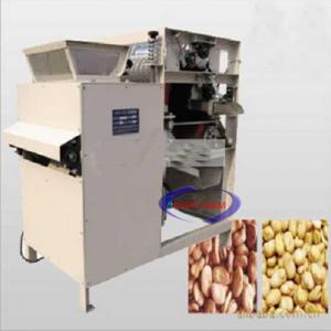 Máy bóc vỏ đỗ tương ướt (NNCQ-B11)được Nhật Nam cung cấp. Máy chuyên dùng bóc vỏ đậu tương, lạc,.. một cách nhanh chóng thích hợp sử dụng trong các quán ăn, nhà hàng lớn. Giúp cho quá trình chuẩn bị nguyên liệu trở nên thuận tiện và dễ dàng.
