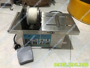 Máy buộc đầu xúc xích mô tơ VN (NNXX - B03) uy tín - chất lượng cao !