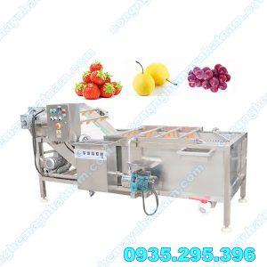Máy rửa rau củ công nghiệp (NNCQ-C07) chuyên dùng để rửa các loại nông sản, rau củ quả, trái cây....