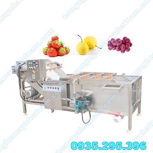 Máy rửa rau củ quả giá rẻ công nghiệp