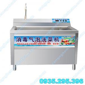 Máy rửa rau quả OZON (NNCQ-C01) là sản phẩm không thể thiếu trong các cơ sở chế biến rau củ, bếp ăn công nghiệp.