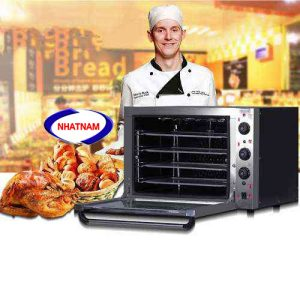 Lò nướng bánh dùng điện ( 4 khay ) (NNLQ-A11)  – Là loại lò nướng nhiều không gian chứa sản phẩm, tính năng sử dụng đơn giản  – Phù hợpvới quy mô công nghiệp và các hộ giađình.