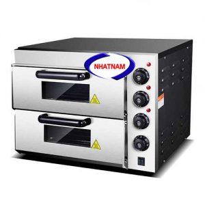 Lò nướng bánh pizza 2 tầng (NNLQ-A09)được thiết kế theo tiêu chuẩn quốc tế, phù hợp với các cơ sở chuyên sản xuất bánh gato , bánh mì .....