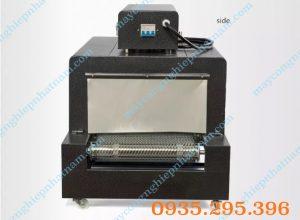 Máy co màng băng tải dạng lưới BS 4035 (NNCM-A07)  Máy chuyên dùng để co màng log chai, hũ, sách vở, các loại hộp .... trong ngành thực phẩm, mỹ phẩm....