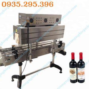 Máy co màng cổ chai (NNCM-A11) chuyên dùng để co màng cổ chai, thân chai dùng trong ngành thực phẩm, đồ uống giải khát, hóa mỹ phẩm..