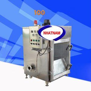 Lò xông khói 100kg (NNLXK-04) là thiết bị cần thiết trong các cơ sở sản xuất xúc xích, thịt bò, thịt trâu hun khói..