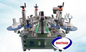 Máy dán nhãn decal tự động (NNDC-10)thích hợp cho bình hình tròn với một nhãn.  – Phóng nhãn, đưa chai, dán nhãn được hoàn thành một lần hoàn toàn tự động  – Thao tác dễ dàng, vị trí dán nhãn đồng đều và gọn gàng  – Máy có thể sử dụng nhãn giấy thông thường và giảm chi phí sản xuất.