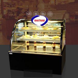 Tủ trưng bày bánh kem 3 tầng kính cong (NNTQ-A02)
