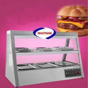 Tủ trưng bày và giữ nóng bánh (NNTQ-A03)là dòng sản phẩm có kiểu dáng sang trọng, được thiết kế nhiều tầng gọn nhẹ dễ dàng di chuyển và thuận tiện cho việc bảo quản, trưng bày bánh.