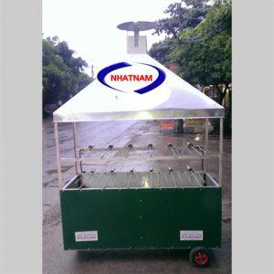 Xe quay vịt 2 tầng 6 xiên (NNXQV-A06) là sản phẩm chuyên sử dụng để quay vịt đường phố của Việt Nam