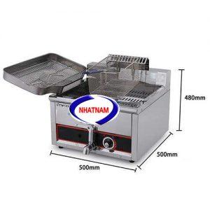 Bếp chiên 15 lít (NNBC-19)là sản phẩm có uy tín và chất lượng hàng đầu trong lĩnh vực nhà bếp, là sự kết hợp những ưu điểm từ các dòng sản phẩm khác: kiểu dáng mới lạ, dễ dàng khi sử dụng, kết cấu các bộ phận vô cùng hợp lý, độ bền cao, làm nóng nhanh, tiết kiệm năng lượng và tiện lợi khi bảo trì