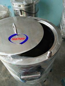 Nồi nấu cháocó kết cấu phù hợp gia nhiệt nhanh, nhiệt nóng đạt 90% trở nên linh kiện thay thế dễ dàng.