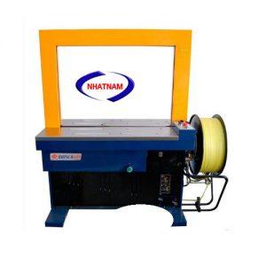 Máy đóng đai thùng tự động (NNĐT-17)vận hành đơn giản và thuận tiện  – Máy có nhiều chế độ vận hành chế độ nhấn công tắc thì máy đóng, chế độ đạp bàn đạp bằng chân, chế động đóng tự động liên tục khi có sản phẩm đi qua.
