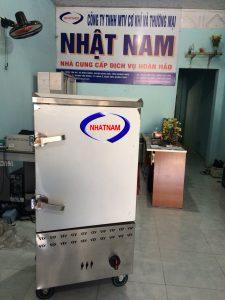 Tủ cơm 12 khay dùng gas (NNTC-15) Tủ có hệ thống phân phối hơi đều, đa chiều, giúp hơi nhiệt tỏa đều trong mọi vị trí không gian nấu