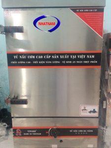 Tủ nấu cơm 8 khay dùng điện và gas (NNTC-25)