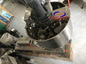 Máy chiết rót khí nén có cánh khuấy (NNDC-A08)được thiết kế chuyên dụng trong việc chiết rót các loại dung dịch đặc, sệt..