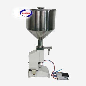 Máy chiết rót mỹ phẩm A02 (NNDC-A03)được sử dụng để chiết rót chất đặc sệt dạng kem như thuốc mỡ, kem đánh răng, kem dưỡng da, sữa rửa mặt...