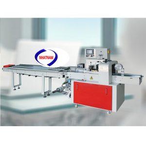 Máy đóng gói bánh mì (NNĐG-A26)sản xuất trên dây chuyền công nghệ hiện đại, tiên tiến. Sản phẩm được Công Ty Nhật Nam nhập khẩu và phân phối trên toàn quốc.